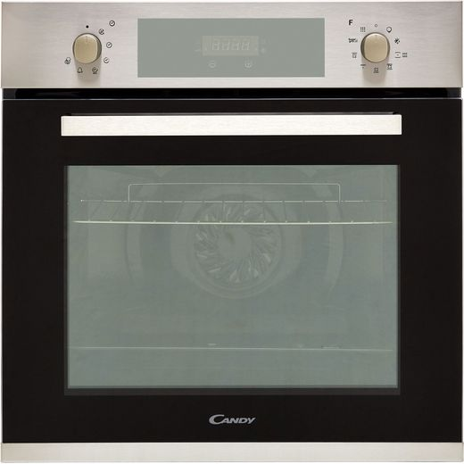 Candy FCPK606X Built In Electric Single Oven - Stainless Steel - A Rated