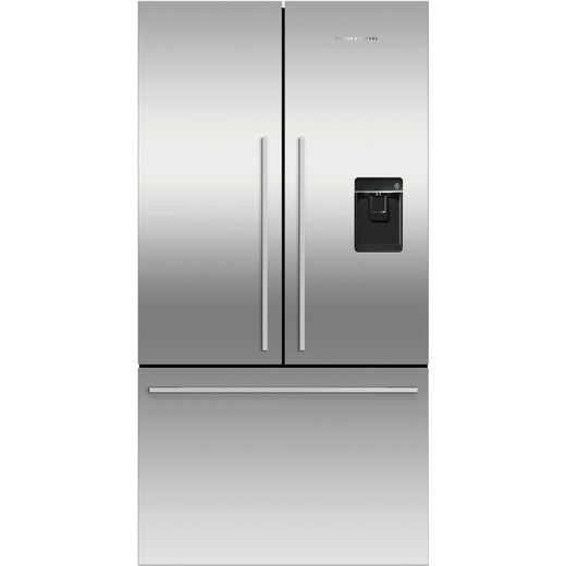Fisher & Paykel RF540ADUX5 American Fridge Freezer - Stainless Steel - F Rated