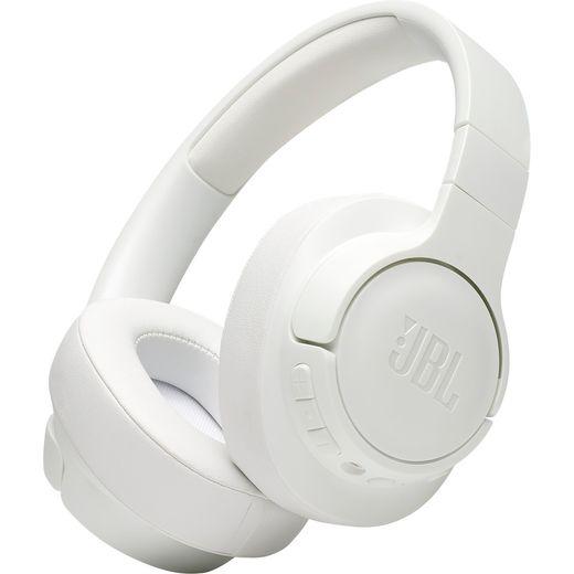 JBL TUNE 750BTNC Over-Ear Wireless Bluetooth Headphones - White