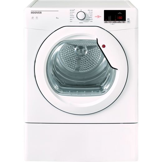 Hoover H-DRY 300 HLEV9DG 9Kg Vented Tumble Dryer - White - C Rated