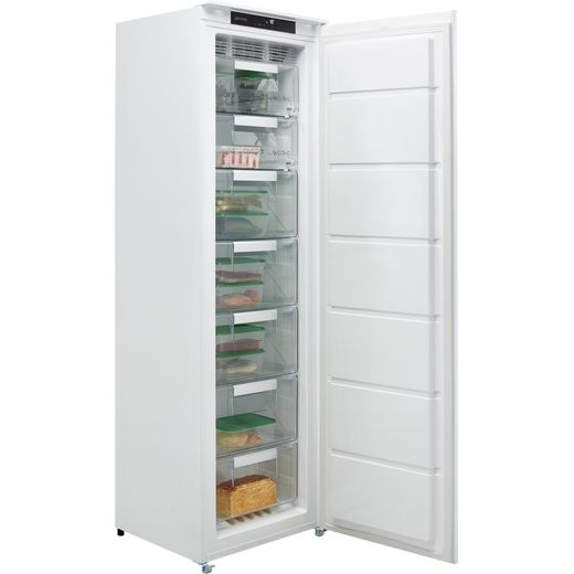 Smeg UKS8F174NF Integrated Frost Free Upright Freezer with Sliding Door Fixing Kit - F Rated