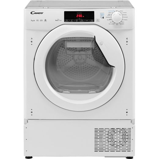 Candy CBTDH7A1TE Integrated 7Kg Heat Pump Tumble Dryer - White - A+ Rated