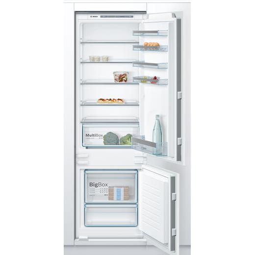 Bosch Serie 4 KIV87VSF0G Built In Fridge Freezer - White