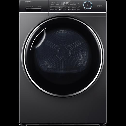 Haier HD90-A2979S Heat Pump Tumble Dryer - Graphite