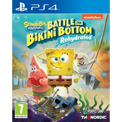 SpongeBob SquarePants: Battle for Bikini Bottom - Rehydrated for Sony PlayStation