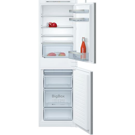 NEFF N50 KI5852SF0G Integrated 50/50 Fridge Freezer with Sliding Door Fixing Kit - White - F Rated
