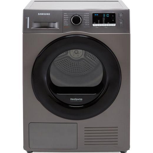 Samsung Series 5 OptimalDry™ DV80TA020AX 8Kg Heat Pump Tumble Dryer - Graphite - A++ Rated