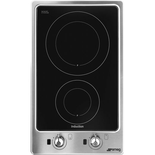 Smeg Classic PGF32I-1 51cm Induction Hob - Stainless Steel