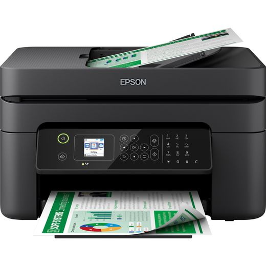 Epson WorkForce WF-2830DWF Inkjet Printer - Black