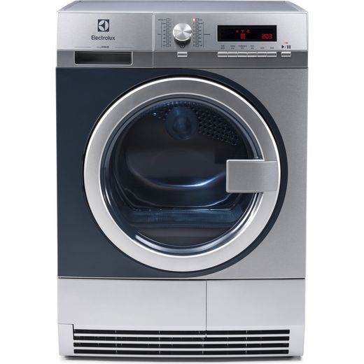 Electrolux Professional myPro TE1120 8Kg Commercial Condenser Tumble Dryer - Stainless Steel - B Rated