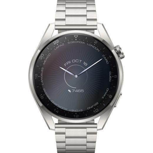 HUAWEI Watch 3 Pro Elite Smart Watch - Stainless Steel