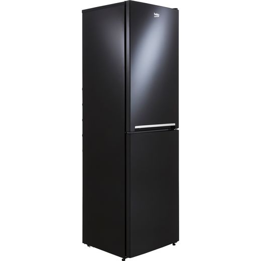 Beko CFG3582B 50/50 Frost Free Fridge Freezer - Black - F Rated