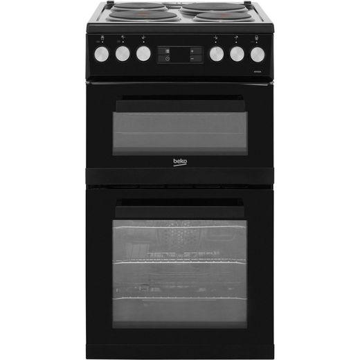 Beko KDV555AK Electric Cooker - Black - Needs 9.6KW Electrical Connection