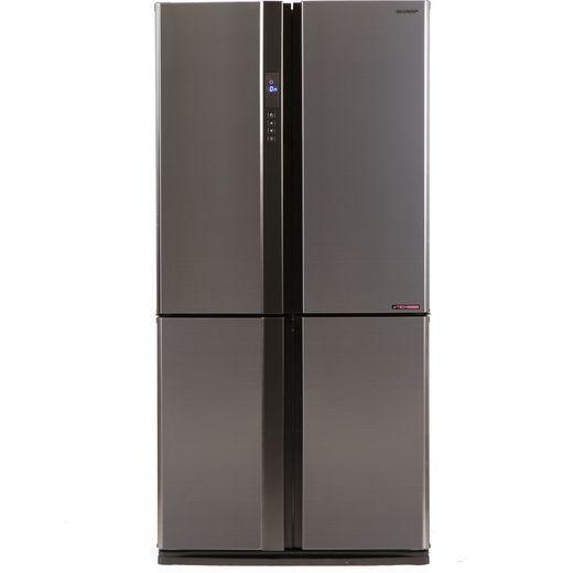 Sharp SJ-EX770F2-SL American Fridge Freezer - Silver - F Rated