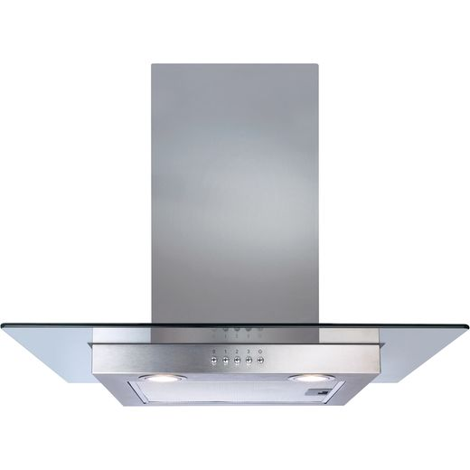 CDA ECN62SS 60 cm Chimney Cooker Hood - Stainless Steel - D Rated
