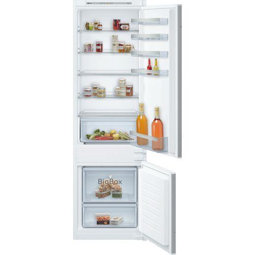 NEFF N50 KI5872SF0G Integrated 70/30 Fridge Freezer with Sliding Door Fixing Kit - White - F Rated