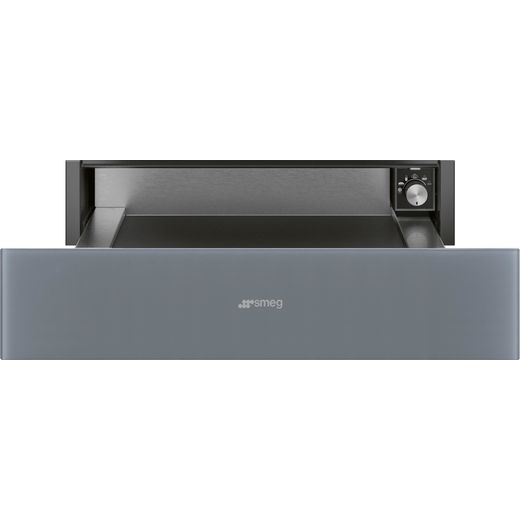 Smeg Linea CPR115S Built In Warming Drawer - Silver