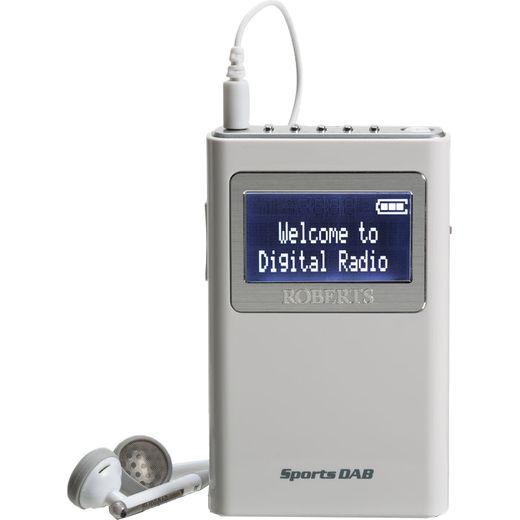Roberts Radio SPORTSDAB5 DAB / DAB+ Digital Radio with FM Tuner