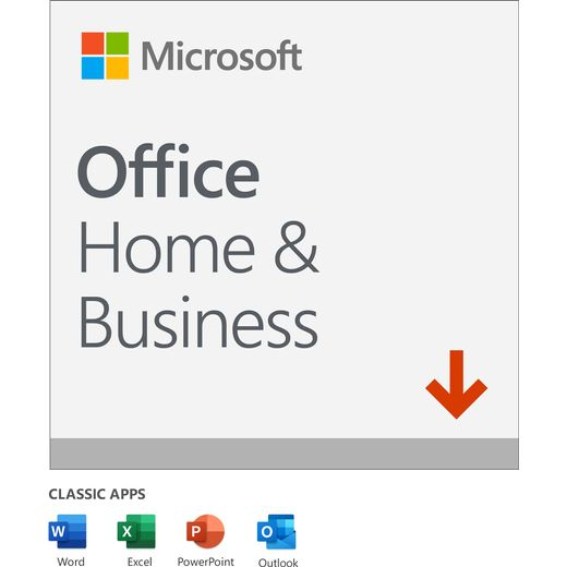 Microsoft Office Home and Business 2019 Digital Download for 1 User - One Time Purchase