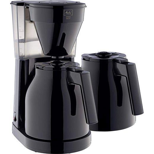 Melitta Easy Therm II 1023-06 6762893 Filter Coffee Machine - Black