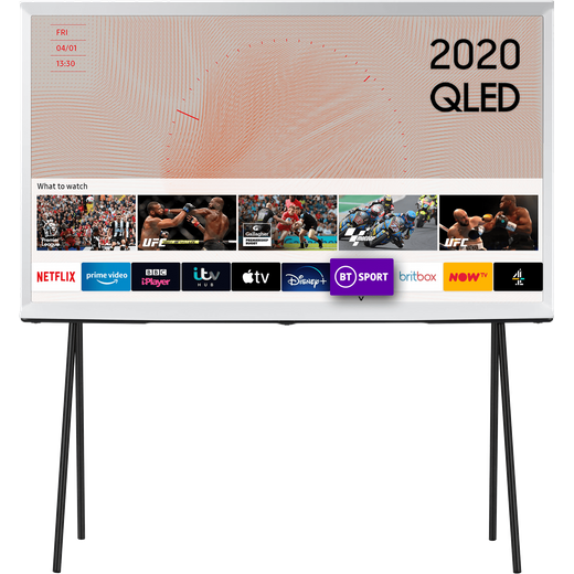 "Samsung Serif QE55LS01TA 55"" Smart HDR 4K Ultra HD QLED TV With 100% Colour Volume, Quantum Processor 4K"