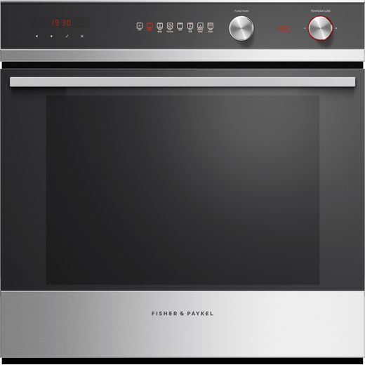 Fisher & Paykel OB60SD7PX1 Built In Electric Single Oven - Stainless Steel - A Rated