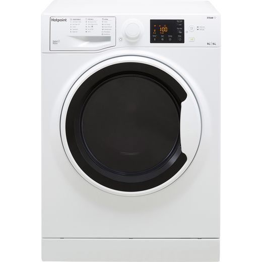 Hotpoint RDG9643WUKN 9Kg / 6Kg Washer Dryer with 1400 rpm - White - D Rated