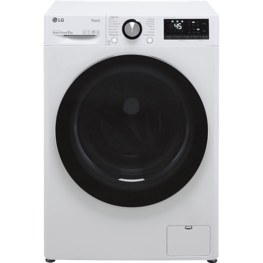 LG V10 F6V1009WTSE Wifi Connected 9Kg Washing Machine with 1600 rpm - White - A Rated