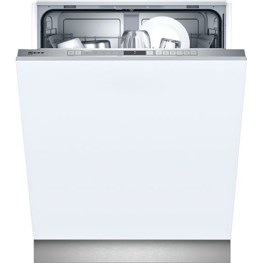 NEFF N30 S153ITX05G Wifi Connected Fully Integrated Standard Dishwasher - Stainless Steel Control Panel - E Rated