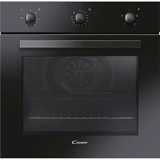 Candy FCP403N/E Built In Electric Single Oven - Black