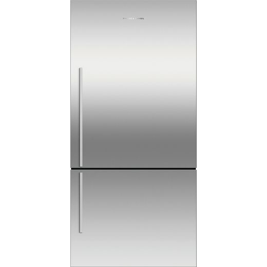 Fisher & Paykel RF522BRXFD5 Frost Free Fridge Freezer - Silver - F Rated