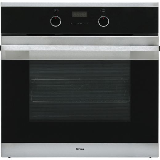 Amica ASC310SS Built In Electric Single Oven - Stainless Steel - A Rated