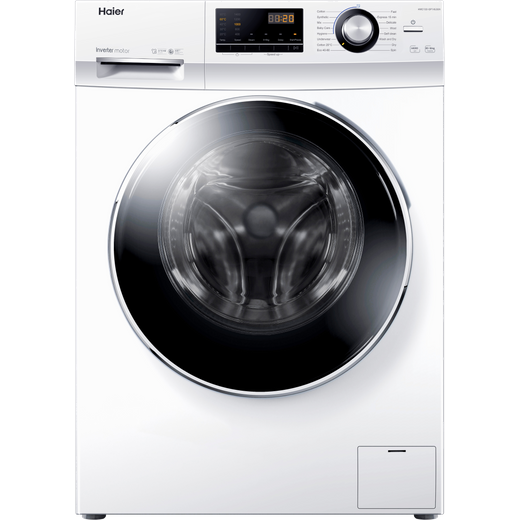 Haier HWD100-BP14636N 10Kg / 6Kg Washer Dryer with 1400 rpm - White - E Rated