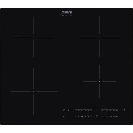 Zanussi ZITN644K 59cm Induction Hob - Black