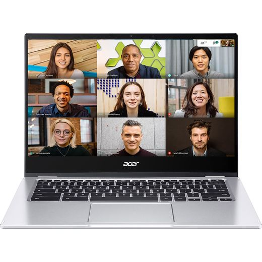 """Acer Spin 514 14"""" 2-in-1 Chromebook Laptop - Silver"""