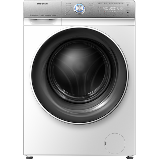Hisense WDQR1014EVAJM 10Kg / 6Kg Washer Dryer with 1400 rpm - White - B Rated