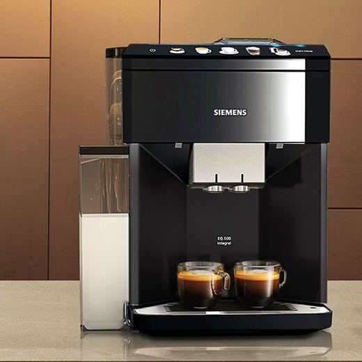 Siemens EQ.500 TQ505R09 Bean to Cup Coffee Machine - Black
