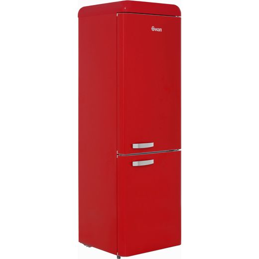 Swan Retro SR11020RN 70/30 Fridge Freezer - Red - F Rated