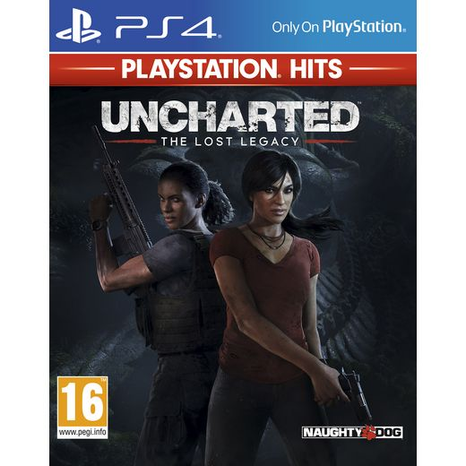 Uncharted Lost Legacy Hits for Sony PlayStation