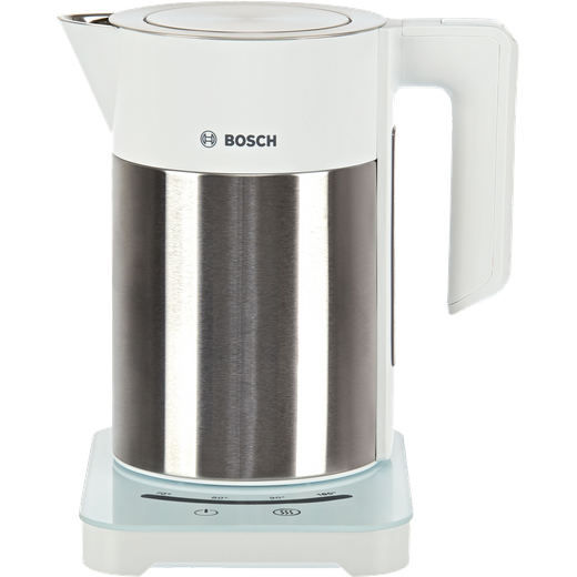 Bosch Sky TWK7201GB Kettle with Temperature Selector - White / Silver