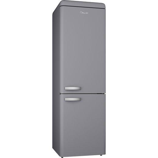 Swan Retro SR11020GRN 70/30 Fridge Freezer - Grey - F Rated