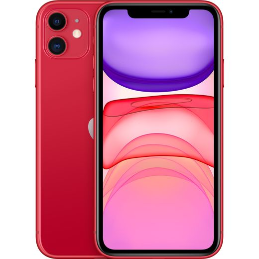 Apple iPhone 11 64GB in (PRODUCT) RED