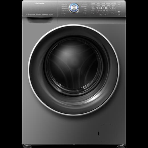 Hisense WDQR1014EVAJMT 10Kg / 6Kg Washer Dryer with 1400 rpm - Titanium - B Rated