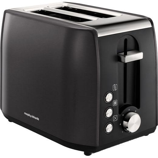 Morphy Richards Equip 222058 2 Slice Toaster - Black