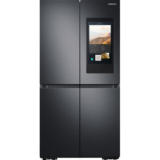Samsung Family Hub™ RF65A977FB1 Wifi Connected American Fridge Freezer - Black / Stainless Steel - F Rated