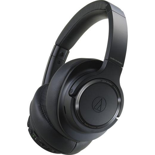 Audio Technica ATH-SR50BT Head-band Bluetooth Headphones - Black