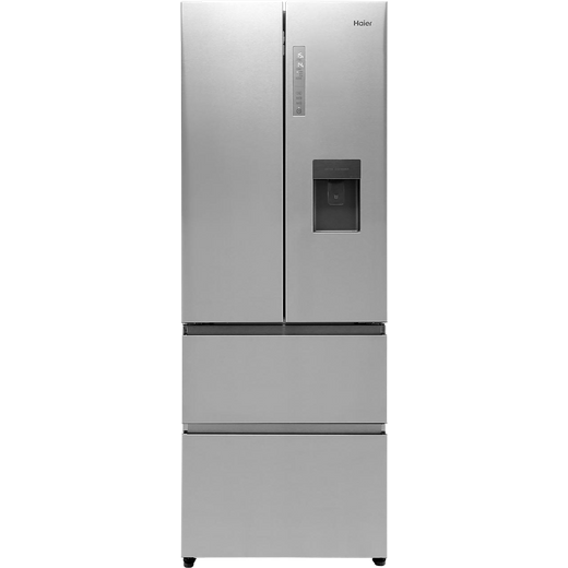 Haier HB16WMAA American Fridge Freezer - Stainless Steel Effect