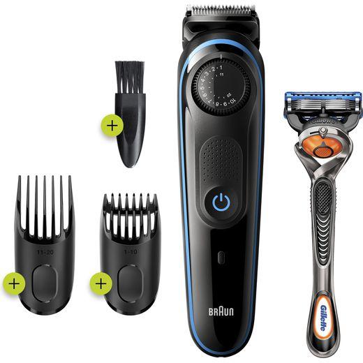 Braun BeardTrimmer 3 Beard Trimmers Black / Blue