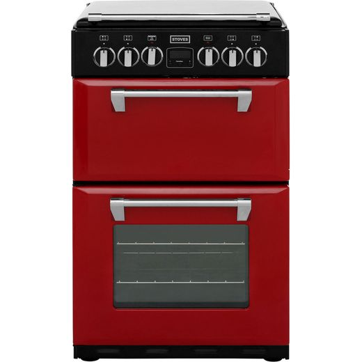 Stoves Mini Range RICHMOND550E 55cm Electric Cooker with Ceramic Hob - Jalapeno - A/A Rated