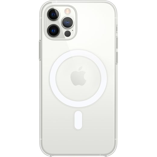 Apple Clear Case With MagSafe for iPhone 12/12 Pro - Clear